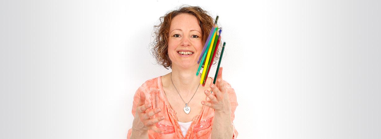 Die Grafik-Designerin und Fotografie Sara White aus Stuttgart